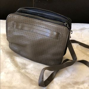 French Connection perforated crossbody bag